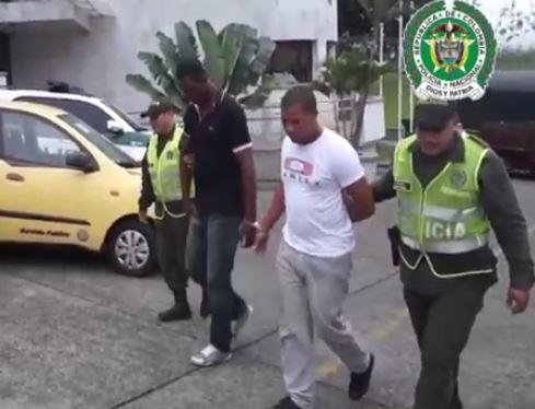 Capturados dos hombres por secuestrar a conductor de vehículo de carga en Buenaventura