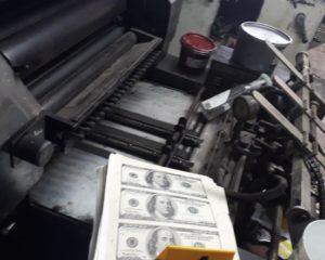 Impactada estructura dedicada a la falsificación de moneda extranjera en Palmira