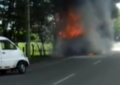 Accidentes de incendio vehicular se evitan con el uso de los extintores