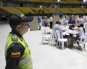 Policía en Cali presenta dispositivo y medidas de seguridad para jornada electoral de éste domingo