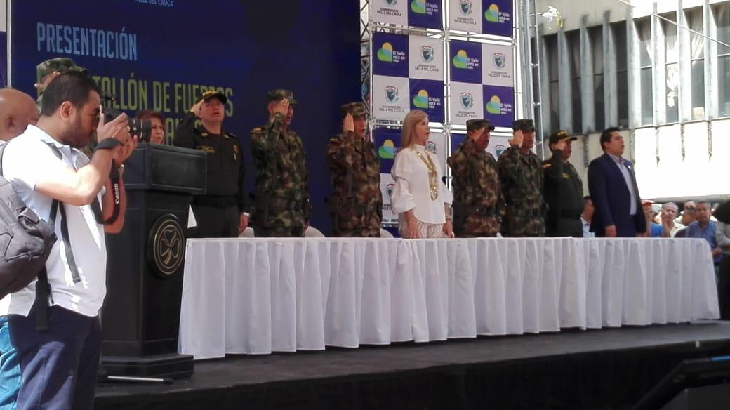 Autoridades activan segundo batallón de fuerzas especiales urbanas del país