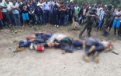 Por temas de narcotráfico pudieron ser asesinadas siete personas en Argelia- Cauca
