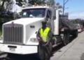 Con uniforme de guardas de tránsito, hombres hurtaron camión en Buenaventura