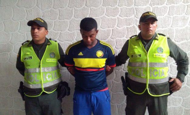 """Capturado en Palmira alias """"Yeison"""" solicitado mediante circular azul de la Interpol"""