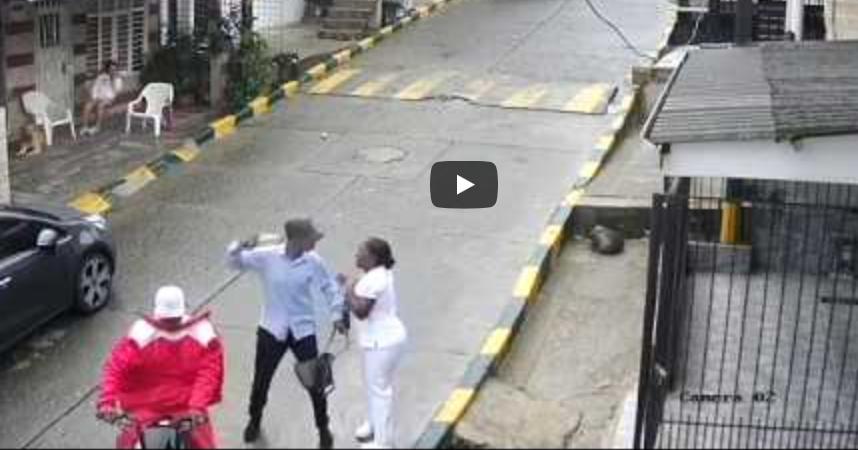Gracias a un video fue posible capturar al par de ladrones en Buenaventura