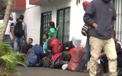 Alabergue en Cali donde se alojaban cerca de 250 venezolanos fue cerrado