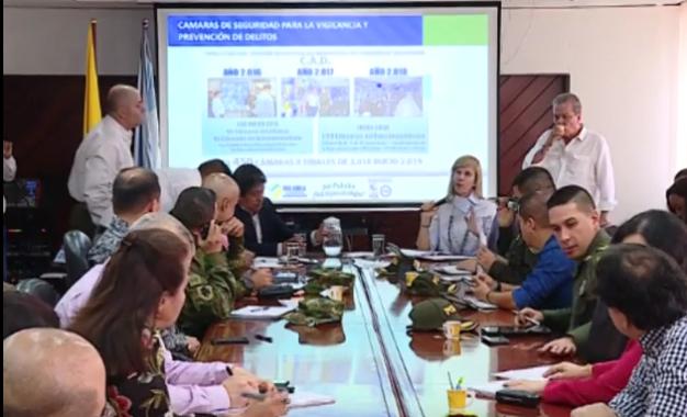 Medidas de seguridad que buscan combatir la delincuencia en Palmira