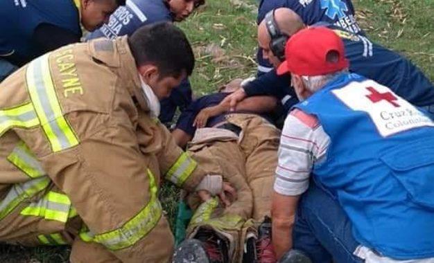 Fuga de gas provocó doble emergencia causando terror en Yumbo