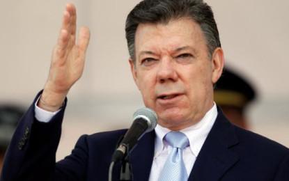 JUAN MANUEL SANTOS FUE REELEGIDO