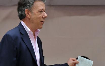 Juan Manuel Santos, ganó la segunda vuelta