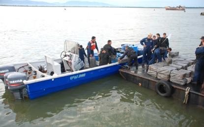 Otro cargamento de cocaína incautado en el pacífico colombiano