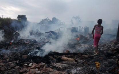 Dramáticas imágenes del incendio en el barrio La Playa al oriente de Cali