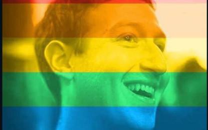 Facebook se llenó de arcoíris