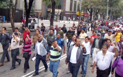 Marcha de comerciantes, en rechazo al proyecto de ley 094 de 2013