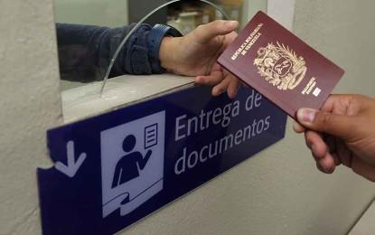 Nueva jornada de entrega de pasaportes