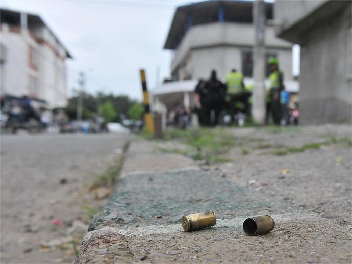 Investigan crimen de un hombre que recibió tres disparos con un arma de fuego con silenciador