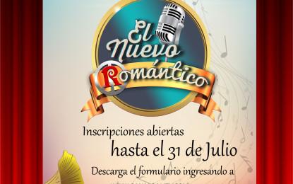 CONCURSO DE CANTO, 'EL NUEVO ROMÁNTICO'.