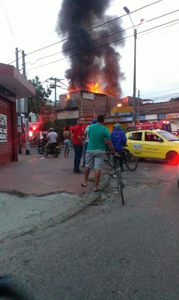 Este lunes una fuerte explosión despertó a los habitantes del barrio Porvenir.