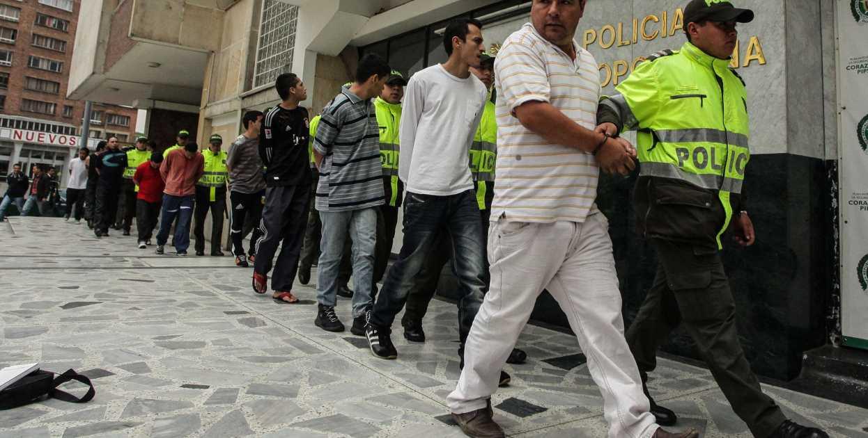 Fueron capturados 11 presuntos integrantes de la banda 'Camaleón' dedicada al hurto en el Cauca.