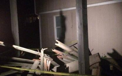 Una mujer resultó herida tras el desplome de un balcón desde un sexto piso, al sur de Cali.