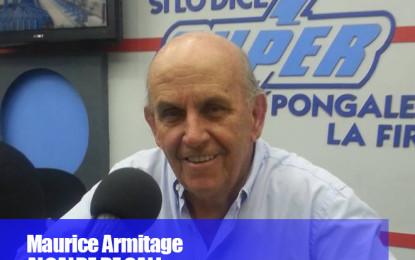 'No soy Superman pero trabajaré incansablemente por Cali' Maurice Armitage