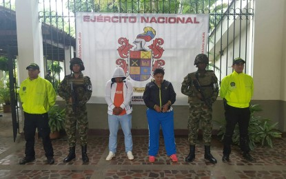 Dos miembros de las FARC capturados en Cali