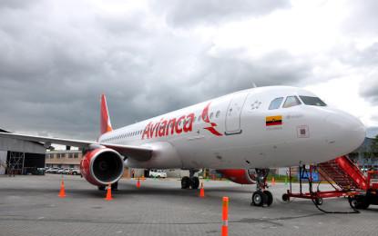 Avión de Avianca que cubría la ruta Bogotá Cali tuvo que aterrizar de emergencia por posibles fallas