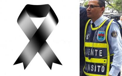 Como Edwin Yesid Amaya Viveros fue identificado agente de tránsito, que perdió la vida tras accidente.