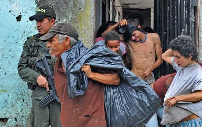 Incremento de indigentes en barrios cercanos a la calle 25