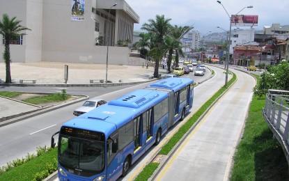 Sanciones por transitar en el carril del MIO