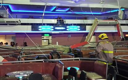 Así quedaron las instalaciones de la discoteca SPACE en Menga tras desplome del techo