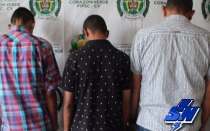 Capturados 3 hombres que pretendían hurtar un bus en el centro de Cali