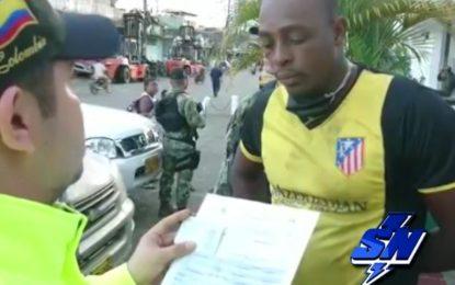 Dos presuntos extorsionistas de Buenaventura fueron capturados, Alias ´Trenzas'  y Alias 'Moro'