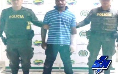 Presunto ladrón capturado por la comunidad en buenaventura