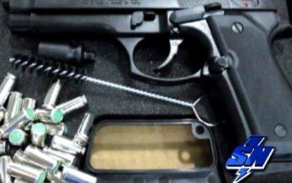 Policía Metropolitana de la ciudad  busca control en la venta de armas de fogueo y balines