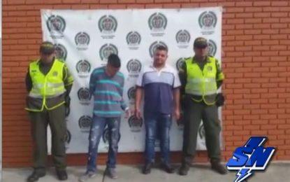 Dos personas capturadas en Obando por portar 20 mil gramos de marihuana