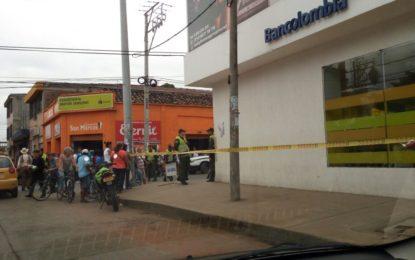 Policía frustra asalto a Banco en Jamundí