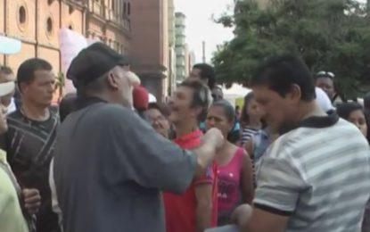 Vendedores ambulantes de Cali protestaron contra el Código de Policía
