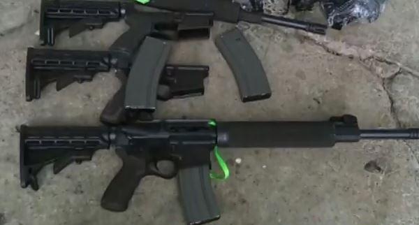 Importante armamento de guerra incautado en Dagua