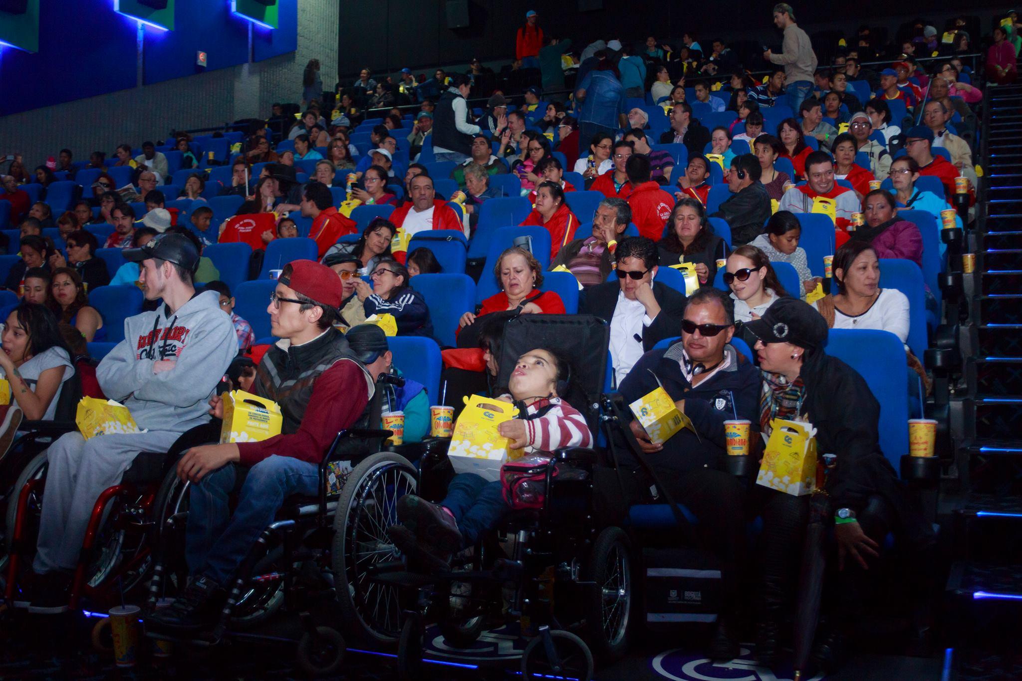 Jornada de cine incluyente en Cali