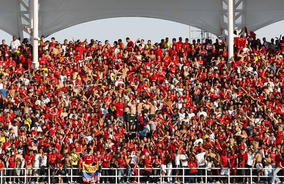Momentos de pánico por riña en el estadio Pascual Guerrero