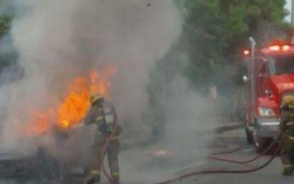 Bomberos Cali han atendido 44 casos de vehículos incendiados en lo que va de 2017
