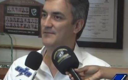«Mi aspiración a la cámara bajaría tensiones en el partido» Cristian Garcés