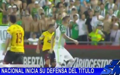 Nacional derrotado 2-1 por Barcelona de Guayaquil, Copa Libertadores