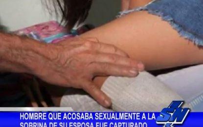 Capturado hombre que abusaba sexualmente de su sobrina política