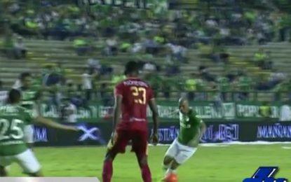 Deportivo Cali goleó 3-0 a Rionegro y ya es tercero en la Liga