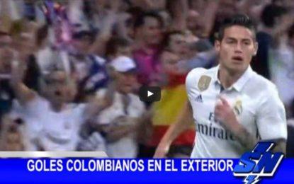 Goles Colombianos en el exterior
