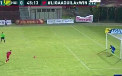 Rionegro Aguilas se impuso 1-0 al Huila en duelo aplazado de Liga