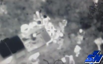 En cámaras de helicóptero quedó registrada agresión de hombre a su esposa en el Vallado