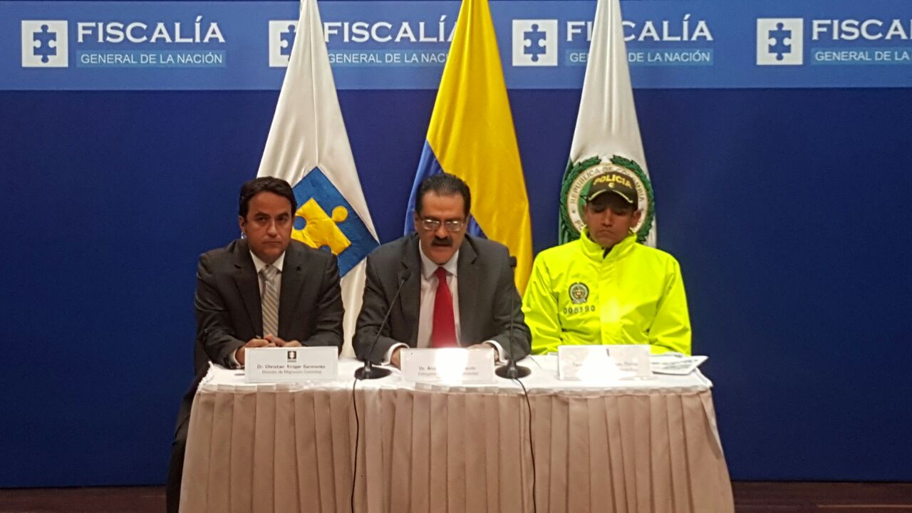 Desarticulada estructura dedicada a la trata de personas en Colombia
